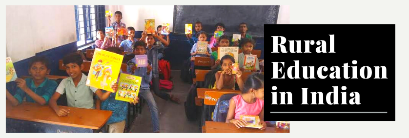 Uplift Rural Education in India and Rediscover Better Educated People