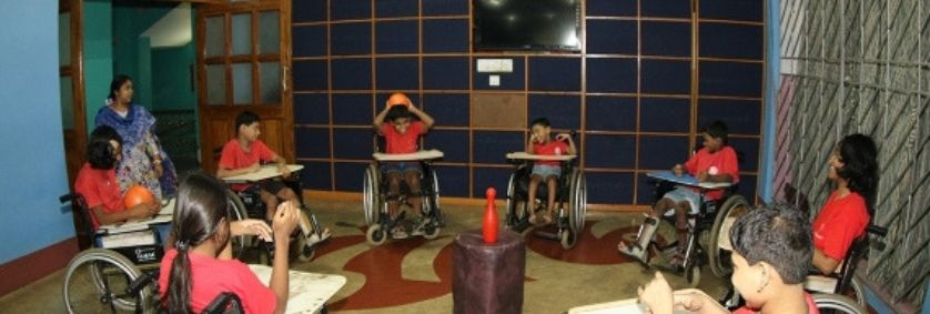 How do the NGOs help the Children with Disabilities in India at Their Special Homes?