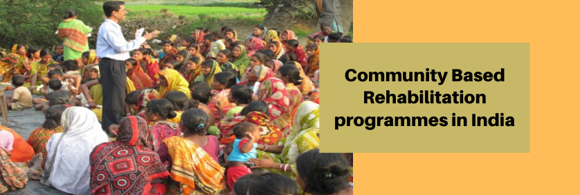 Community Based Rehabilitation: Plan & Goals